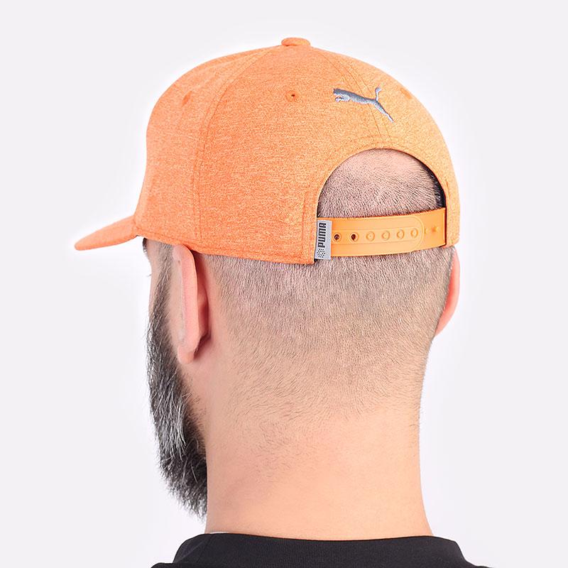 мужскую оранжевую  кепка puma youth utility patch cap 02199804 - цена, описание, фото 3