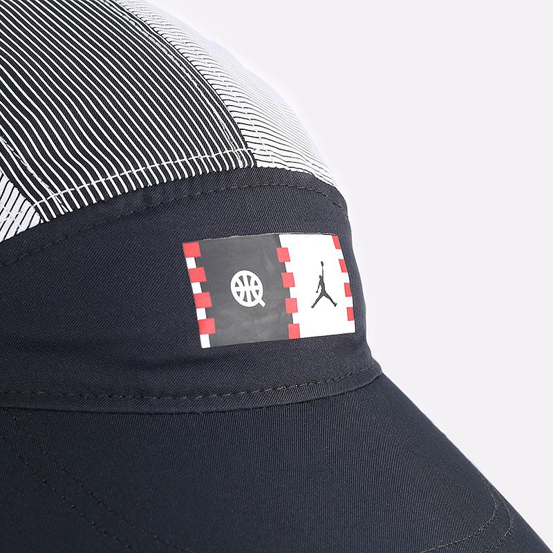 мужская черная кепка Jordan Quai 54 Tailwind DM4970-010 - цена, описание, фото 2