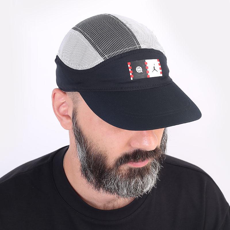 мужская черная кепка Jordan Quai 54 Tailwind DM4970-010 - цена, описание, фото 1