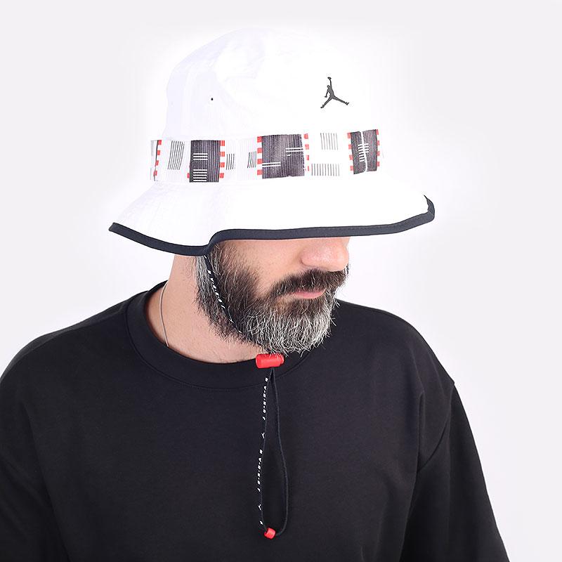 белую  панама jordan quai 54 bucket hat DM4968-100 - цена, описание, фото 3