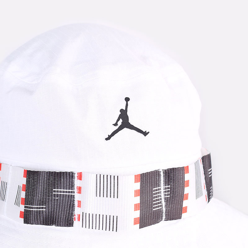 белую  панама jordan quai 54 bucket hat DM4968-100 - цена, описание, фото 2
