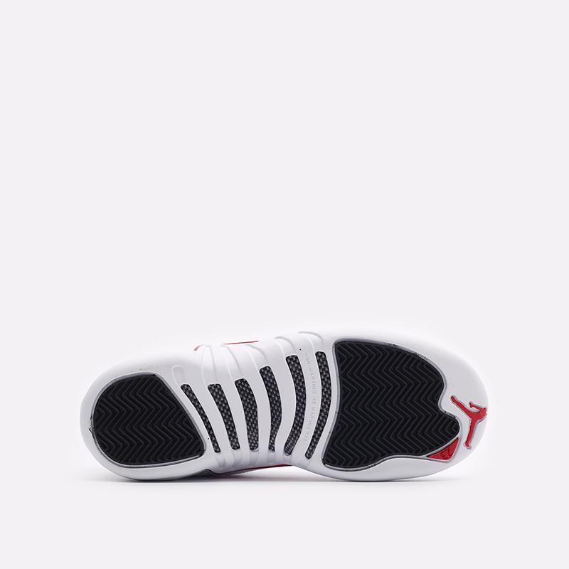 женские белые  кроссовки jordan 12 retro (gs) 153265-106 - цена, описание, фото 5