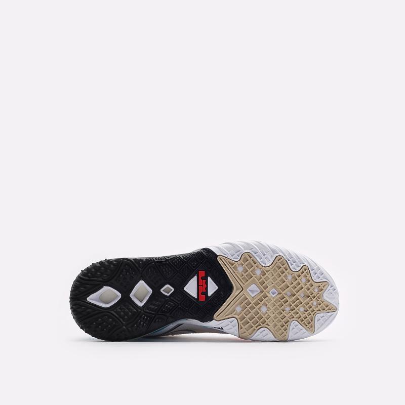 мужские разноцветные  кроссовки nike lebron xviii low CV7562-104 - цена, описание, фото 5