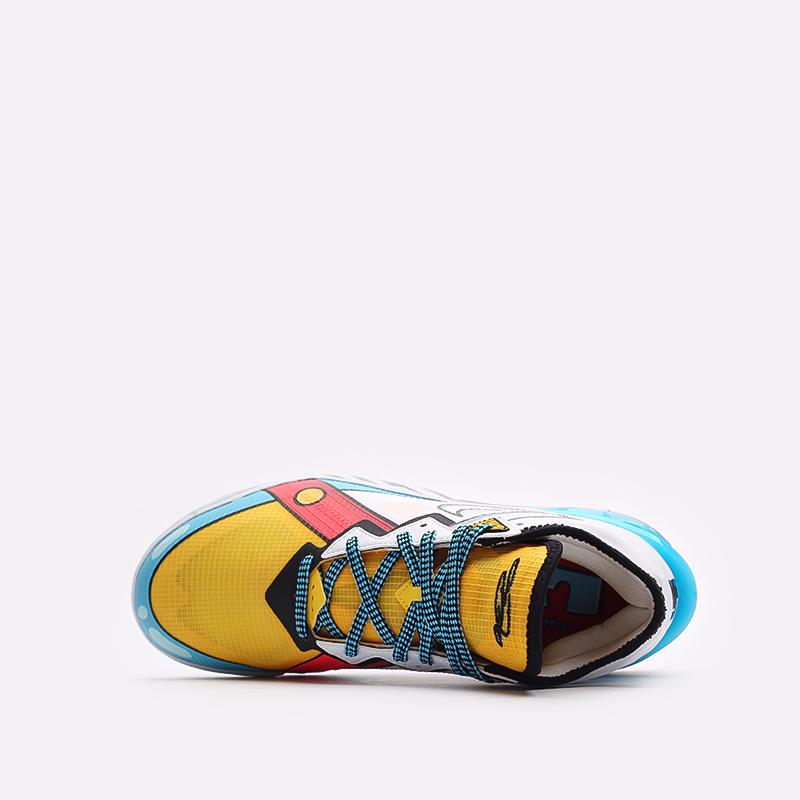 мужские разноцветные  кроссовки nike lebron xviii low CV7562-104 - цена, описание, фото 6