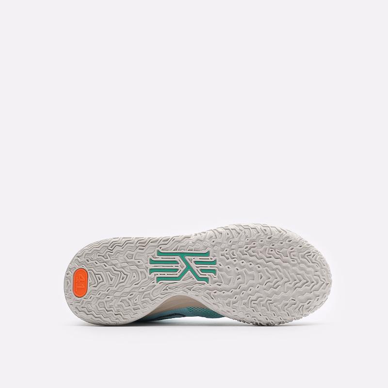 голубые баскетбольные кроссовки Nike Kyrie 7 CQ9326-402 - цена, описание, фото 5