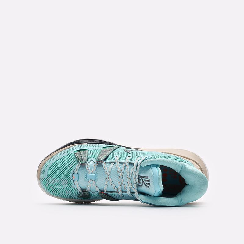 голубые баскетбольные кроссовки Nike Kyrie 7 CQ9326-402 - цена, описание, фото 6
