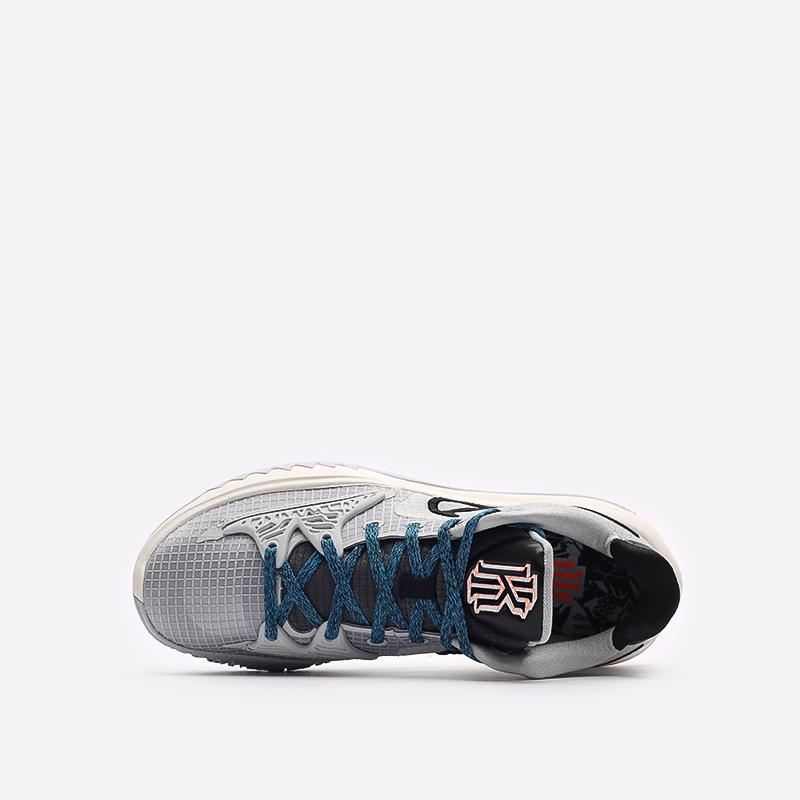 мужские серые баскетбольные кроссовки Nike Kyrie Low 4 CW3985-004 - цена, описание, фото 6