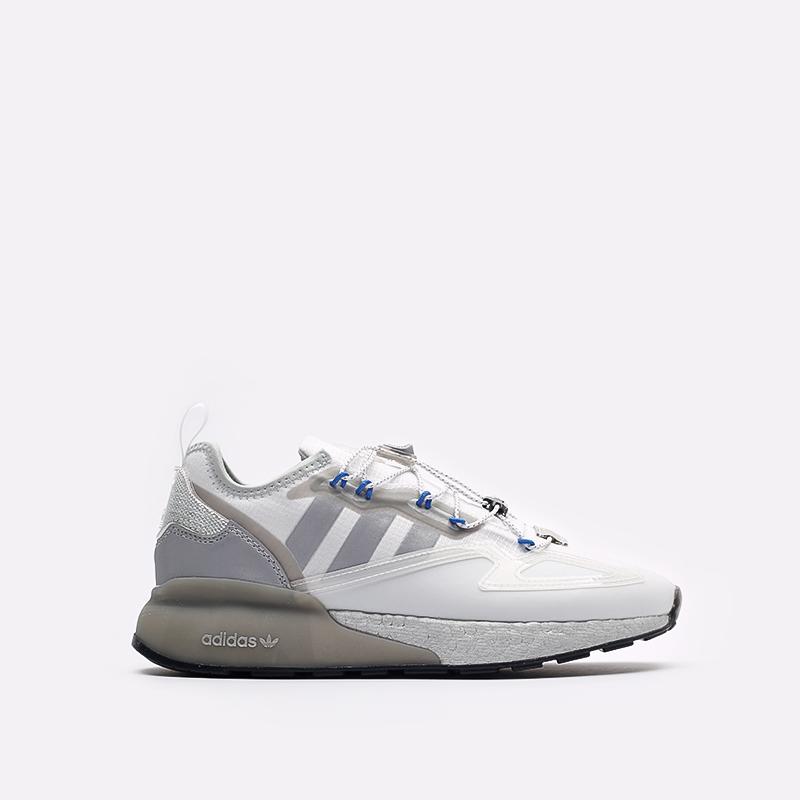 белые кроссовки adidas ZX 2K Boost GY1208 - цена, описание, фото 1