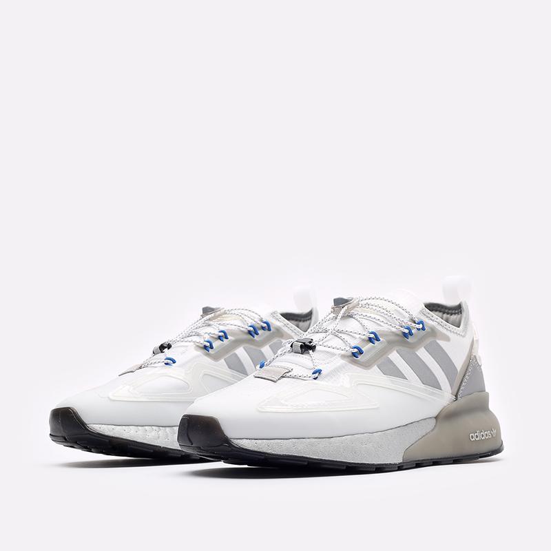 белые кроссовки adidas ZX 2K Boost GY1208 - цена, описание, фото 4