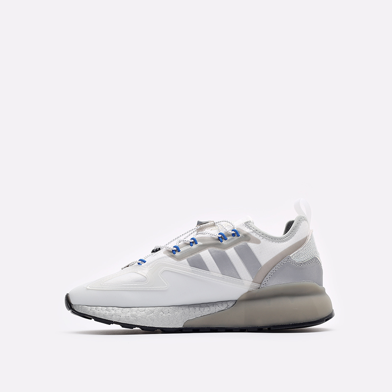 белые кроссовки adidas ZX 2K Boost GY1208 - цена, описание, фото 2