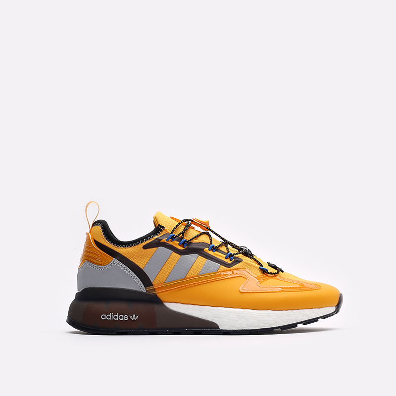 желтые кроссовки adidas ZX 2K Boost GY1207 - цена, описание, фото 1