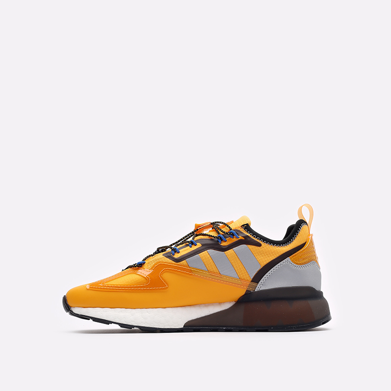 желтые кроссовки adidas ZX 2K Boost GY1207 - цена, описание, фото 2