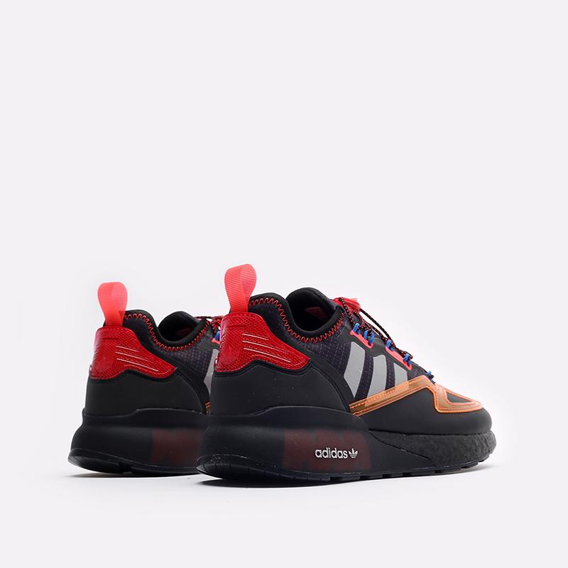 черные кроссовки adidas ZX 2K Boost GY1209 - цена, описание, фото 3