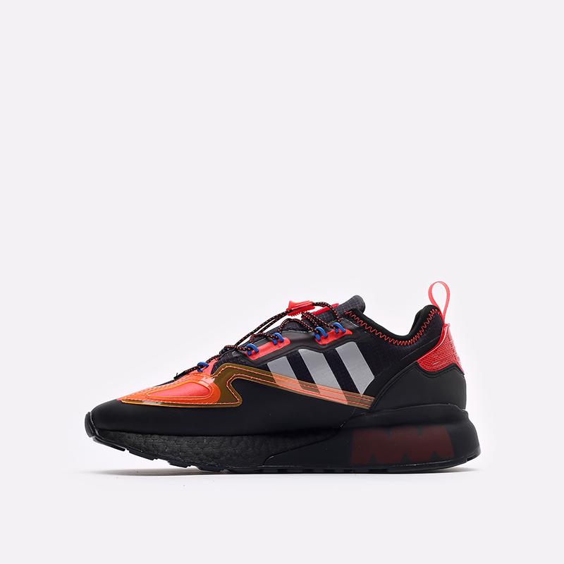 черные кроссовки adidas ZX 2K Boost GY1209 - цена, описание, фото 2