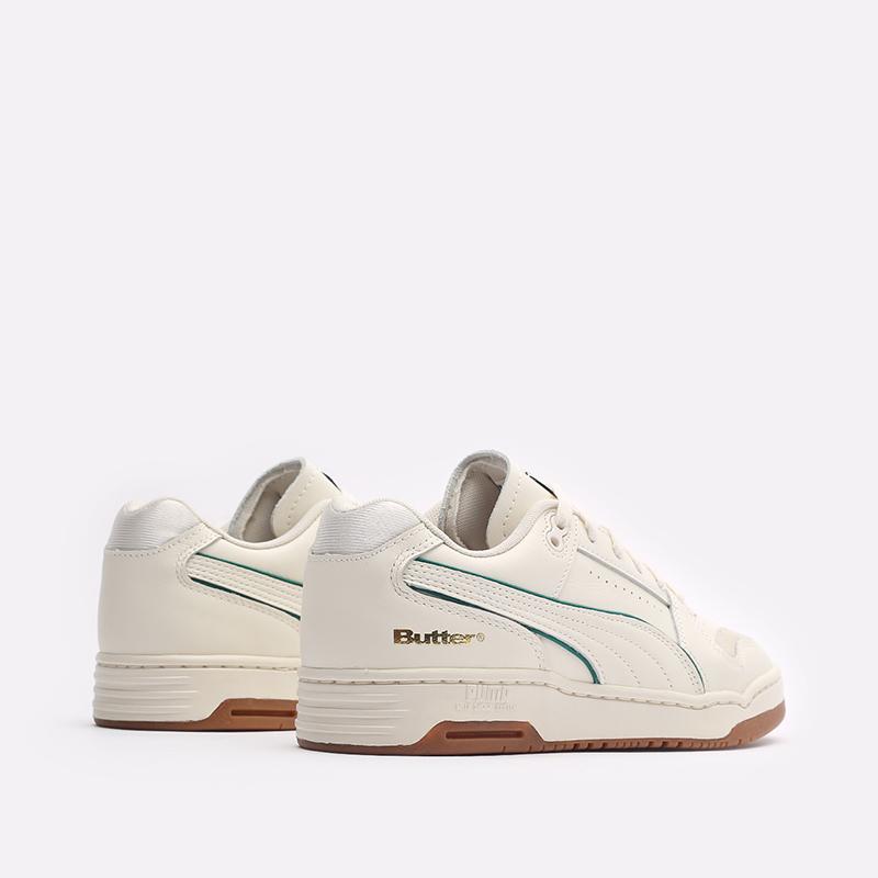 мужские бежевые кроссовки PUMA x Butter Slipstream Lo Butter Goods 38178701 - цена, описание, фото 3