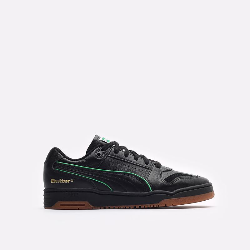 мужские черные кроссовки PUMA x Butter Slipstream Lo Butter Goods 38178702 - цена, описание, фото 1