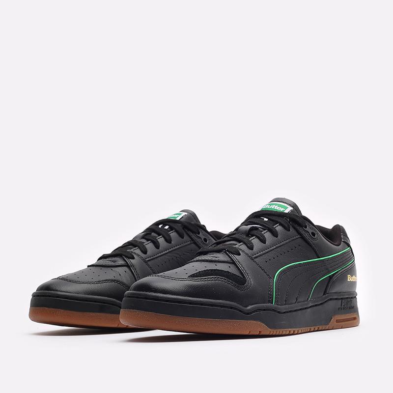 мужские черные кроссовки PUMA x Butter Slipstream Lo Butter Goods 38178702 - цена, описание, фото 4