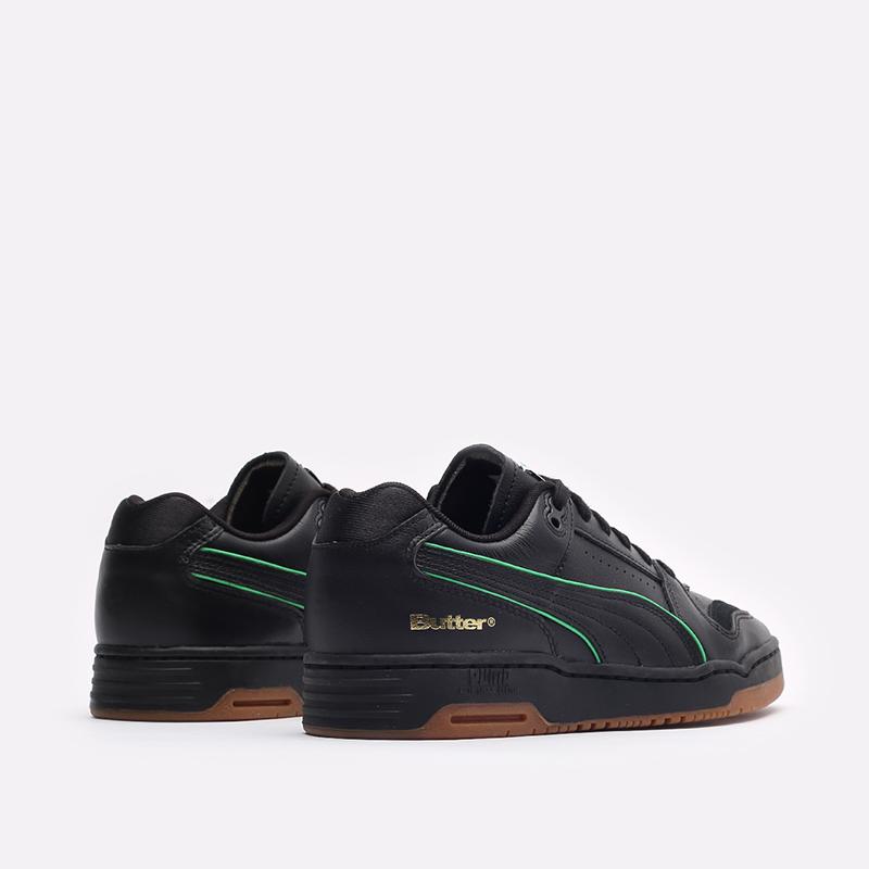 мужские черные кроссовки PUMA x Butter Slipstream Lo Butter Goods 38178702 - цена, описание, фото 3