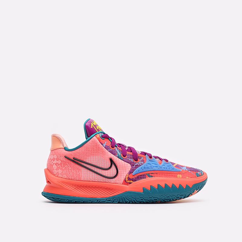 мужские оранжевые баскетбольные кроссовки Nike Kyrie Low 4 CW3985-600 - цена, описание, фото 1