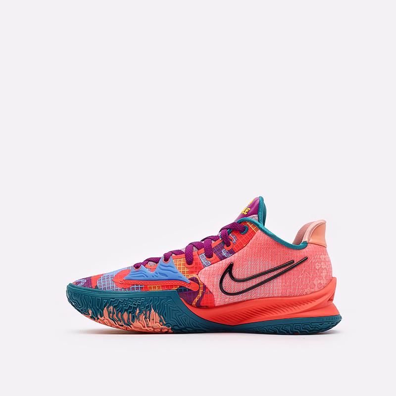 мужские оранжевые баскетбольные кроссовки Nike Kyrie Low 4 CW3985-600 - цена, описание, фото 2