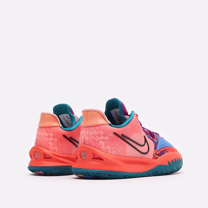 мужские оранжевые баскетбольные кроссовки Nike Kyrie Low 4 CW3985-600 - цена, описание, фото 3
