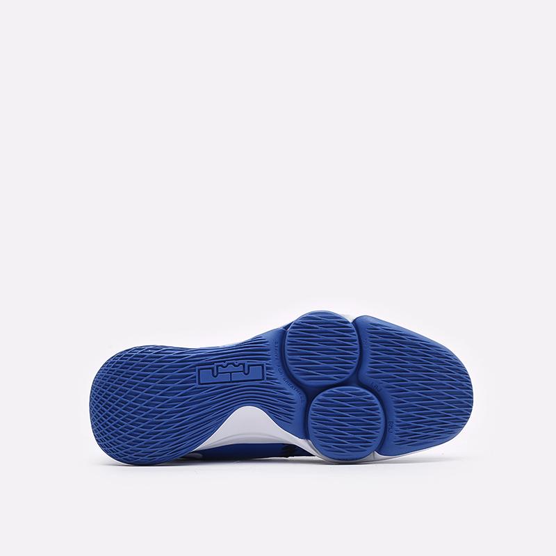 мужские синие баскетбольные кроссовки Nike Lebron Witness V CQ9380-400 - цена, описание, фото 5