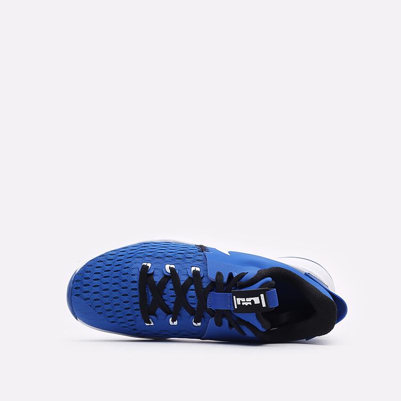 мужские синие баскетбольные кроссовки Nike Lebron Witness V CQ9380-400 - цена, описание, фото 6