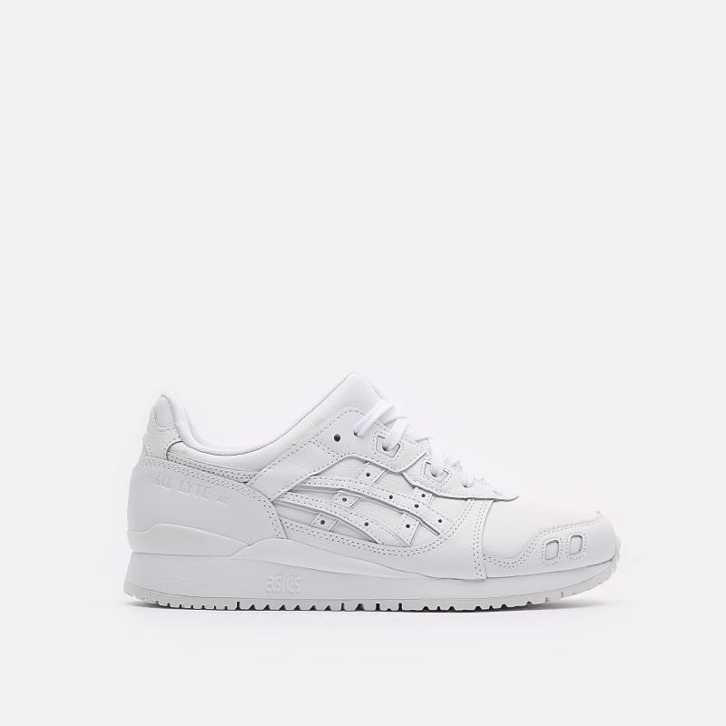 мужские белые кроссовки ASICS Gel-Lyte III OG 1201A257-100 - цена, описание, фото 1
