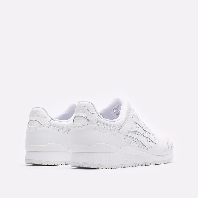мужские белые кроссовки ASICS Gel-Lyte III OG 1201A257-100 - цена, описание, фото 3