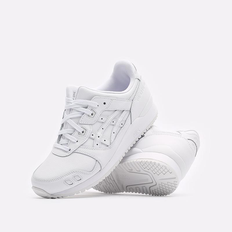 мужские белые кроссовки ASICS Gel-Lyte III OG 1201A257-100 - цена, описание, фото 2