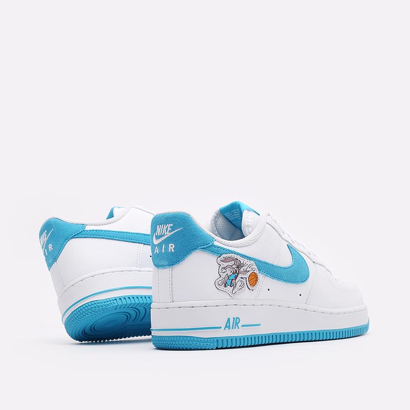 мужские белые кроссовки Nike Air Force 1 '07 DJ7998-100 - цена, описание, фото 3