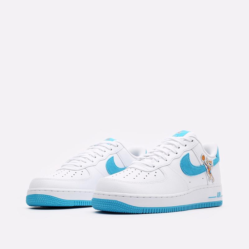 мужские белые кроссовки Nike Air Force 1 '07 DJ7998-100 - цена, описание, фото 4