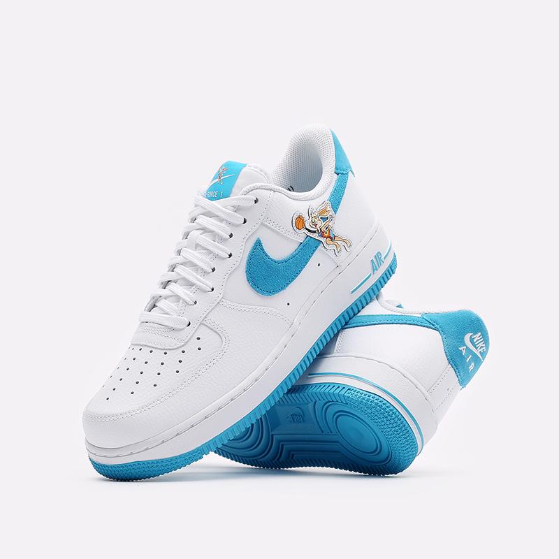 мужские белые кроссовки Nike Air Force 1 '07 DJ7998-100 - цена, описание, фото 2