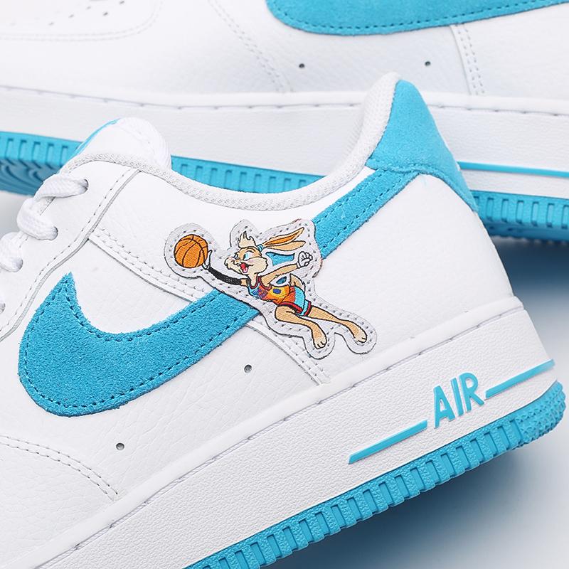 мужские белые кроссовки Nike Air Force 1 '07 DJ7998-100 - цена, описание, фото 7