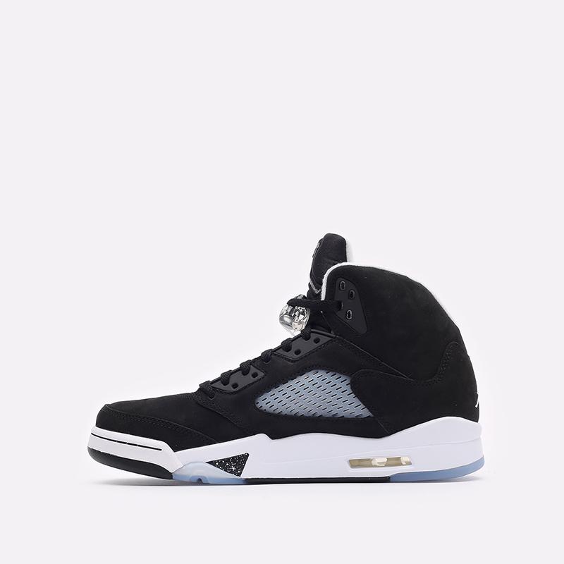 мужские черные кроссовки Jordan 5 Retro CT4838-011 - цена, описание, фото 2