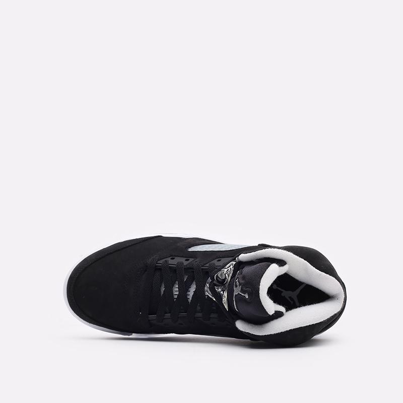 мужские черные кроссовки Jordan 5 Retro CT4838-011 - цена, описание, фото 6