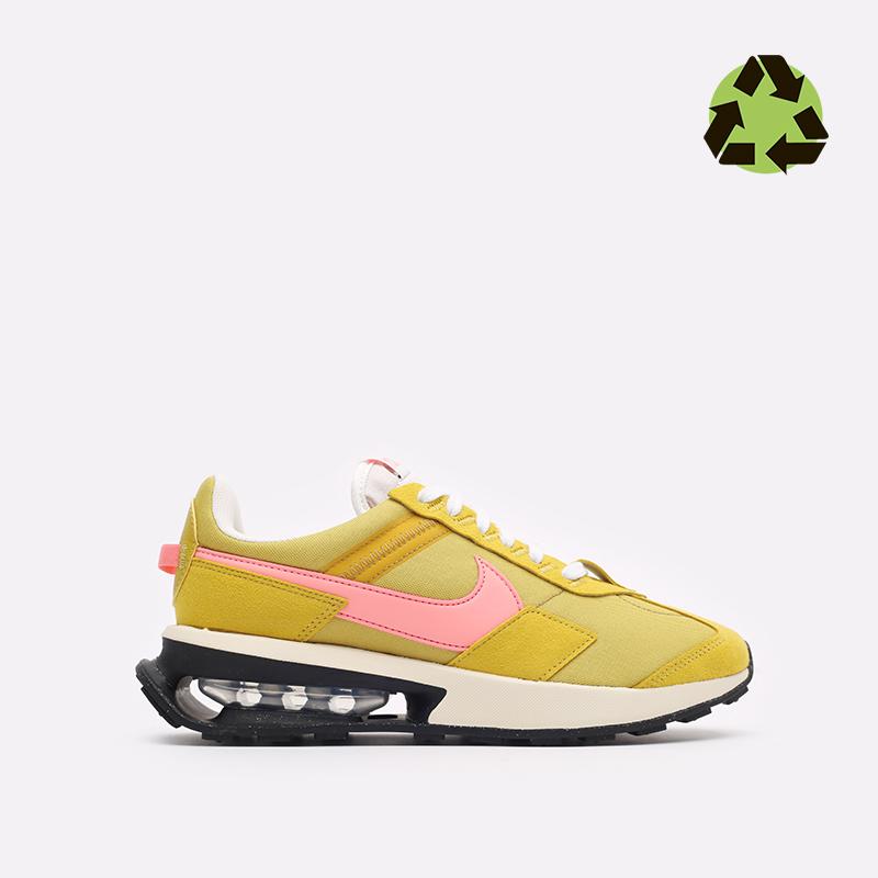 женские желтые кроссовки Nike WMNS Air Max Pre-Day LX DH5676-300 - цена, описание, фото 1