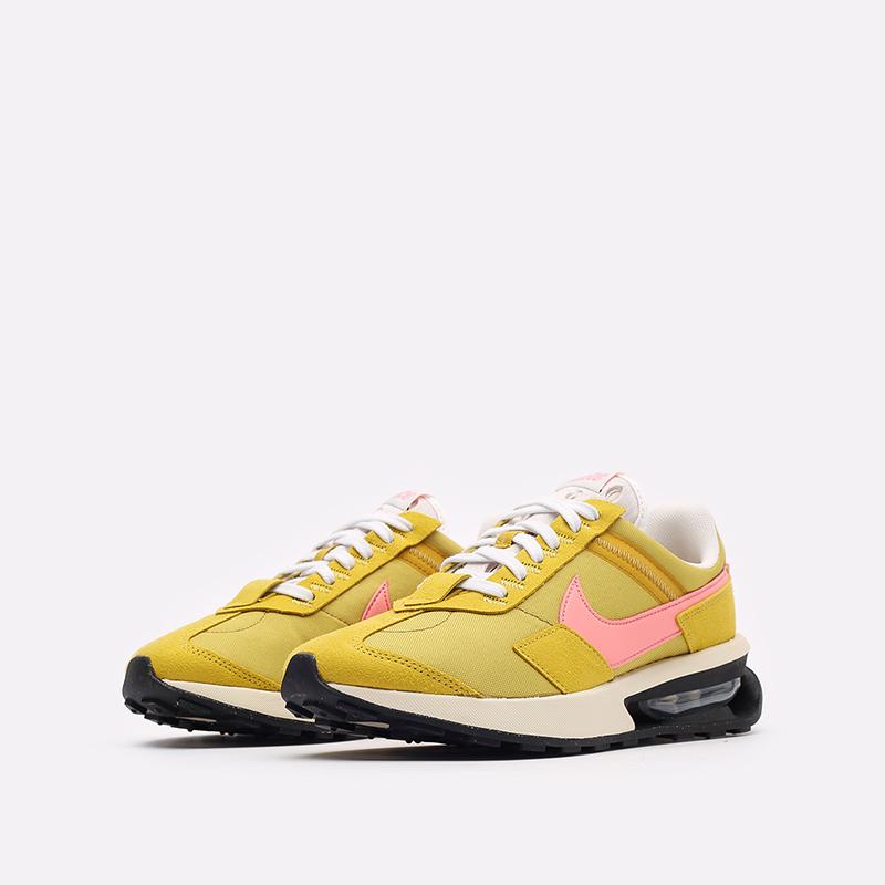 женские желтые кроссовки Nike WMNS Air Max Pre-Day LX DH5676-300 - цена, описание, фото 4