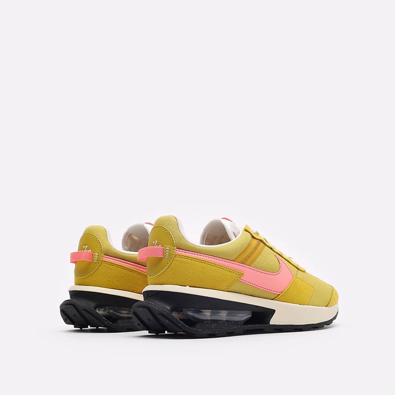 женские желтые кроссовки Nike WMNS Air Max Pre-Day LX DH5676-300 - цена, описание, фото 3