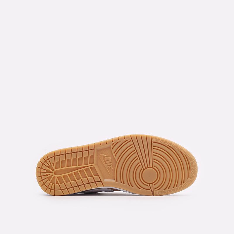 мужские белые кроссовки Jordan 1 Low DN6999-100 - цена, описание, фото 5