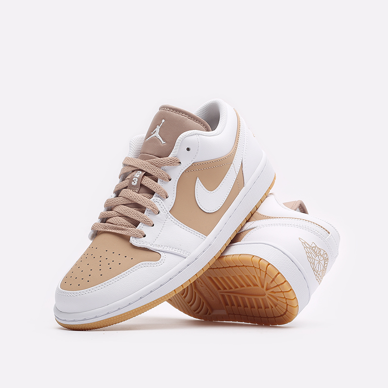 мужские белые кроссовки Jordan 1 Low DN6999-100 - цена, описание, фото 2