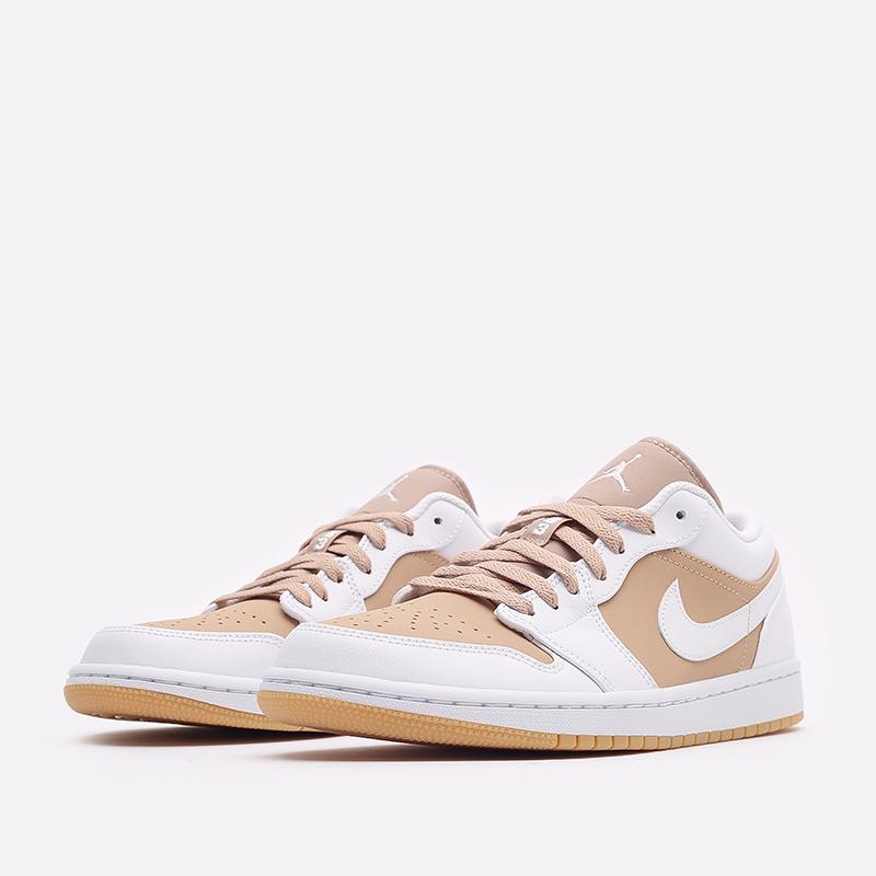 мужские белые кроссовки Jordan 1 Low DN6999-100 - цена, описание, фото 4