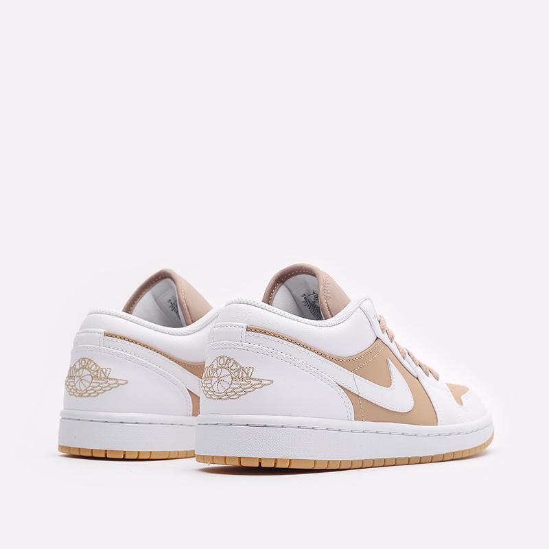 мужские белые кроссовки Jordan 1 Low DN6999-100 - цена, описание, фото 3