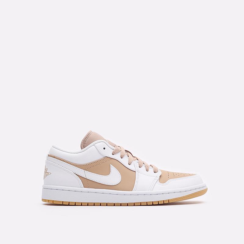 мужские белые кроссовки Jordan 1 Low DN6999-100 - цена, описание, фото 1