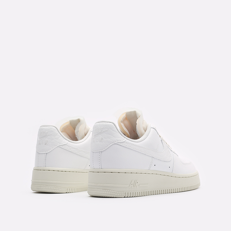 женские белые кроссовки Nike WMNS Air Force 1 LO PRM DN5463-100 - цена, описание, фото 3