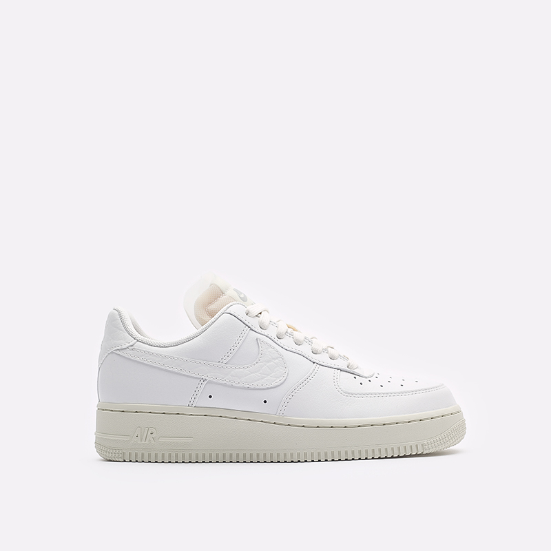 женские белые кроссовки Nike WMNS Air Force 1 LO PRM DN5463-100 - цена, описание, фото 1