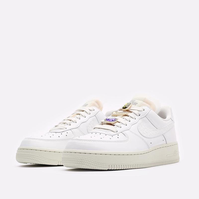 женские белые кроссовки Nike WMNS Air Force 1 LO PRM DN5463-100 - цена, описание, фото 4