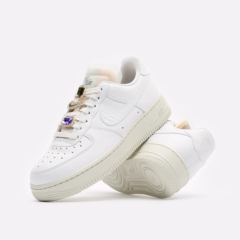 женские белые кроссовки Nike WMNS Air Force 1 LO PRM DN5463-100 - цена, описание, фото 2