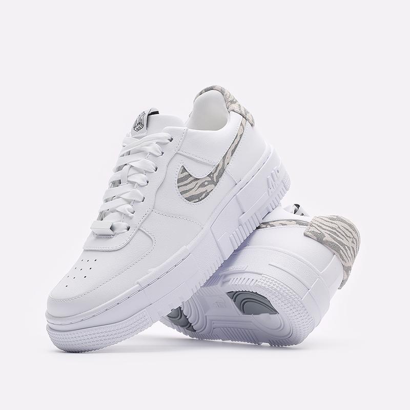 женские белые кроссовки Nike WMNS Air Force 1 Pixel SE DH9632-100 - цена, описание, фото 2