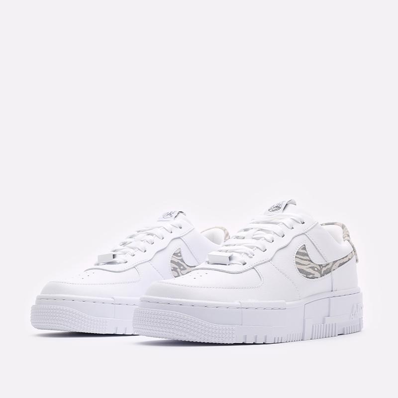 женские белые кроссовки Nike WMNS Air Force 1 Pixel SE DH9632-100 - цена, описание, фото 4